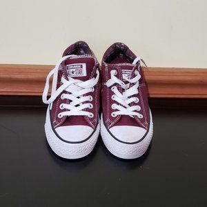 CONVERSE WINE LOW SNEAKERS SIZE 7